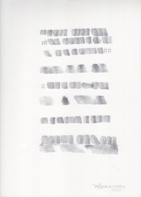 , 'Sin título (Texto),' 1997, Herlitzka + Faria