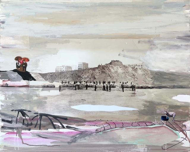 , 'Cabra y paraguas,' 2017, Moisés Pérez De Albéniz