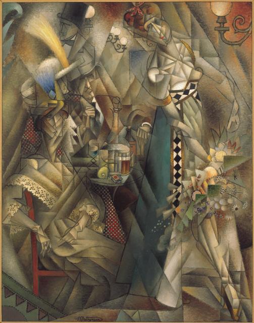 Jean Metzinger, 'Danseuse au cafe (Dancer in a Cafe)', 1912, ARS/Art Resource
