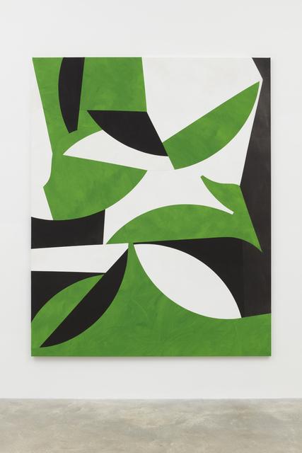 , 'Tropical Forms (Grass Green),' 2017, Casey Kaplan