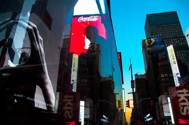 , 'Prayer at Times Square,' , Dab Art