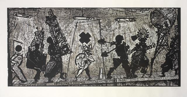 , 'Eight Figures,' 2010, Osborne Samuel
