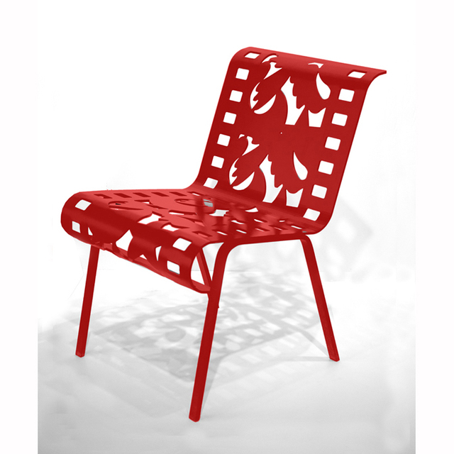 , '[ 18.1 ] Chairs from Cutting Room Floor Series (Red),' , ÆRENA Galleries and Gardens