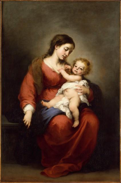 Bartolomé Esteban Murillo, 'Virgin and Child', ca. 1670–1672, The Metropolitan Museum of Art