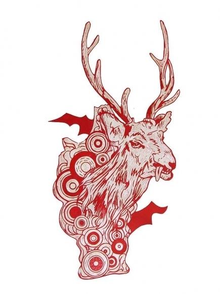 , 'Untitled (Deer),' 2007, Mark Moore Fine Art