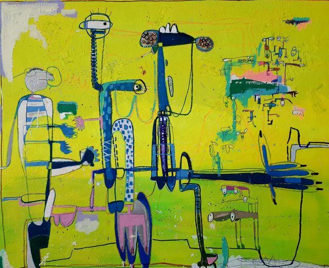 , 'Eje,' 2017, Galeria Casa Cuadrada