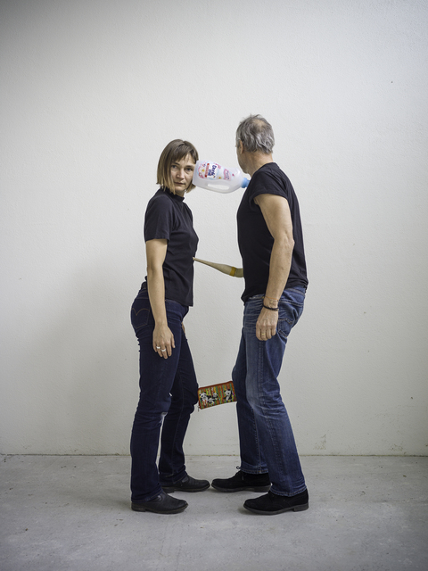 , 'One Minute Sculpture with Erwin Wurm: Denk mit,' 2018, Galleria Heino