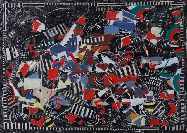 , 'Composition 25,' ca. 1990, Hutchinson Modern