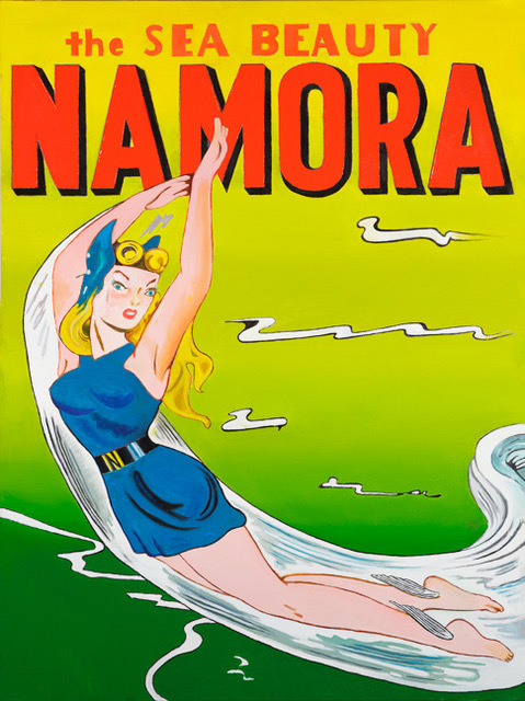 , 'The Sea Beauty Namora,' 2017, Modernism Inc.