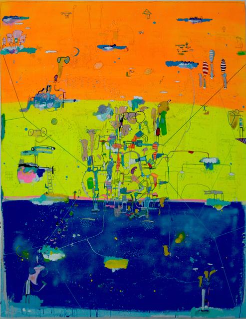 , 'Tres Lunas,' 2016, Allouche Gallery