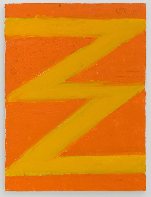 , 'A Late Zig-Zag,' 2003, Fisher Parrish Gallery