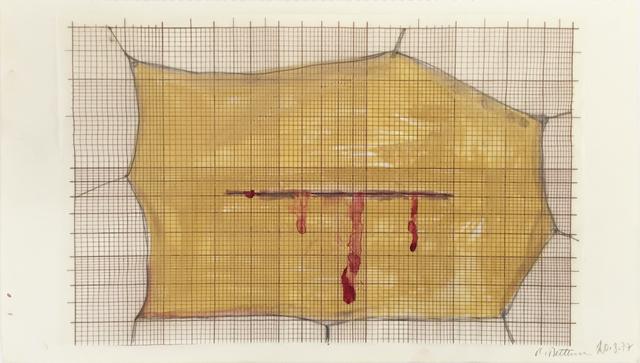 , 'Skin with blood,' 1977, Richard Saltoun