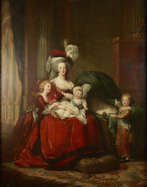 , 'Marie Antoinette and her Children,' 1787, RMN Grand Palais