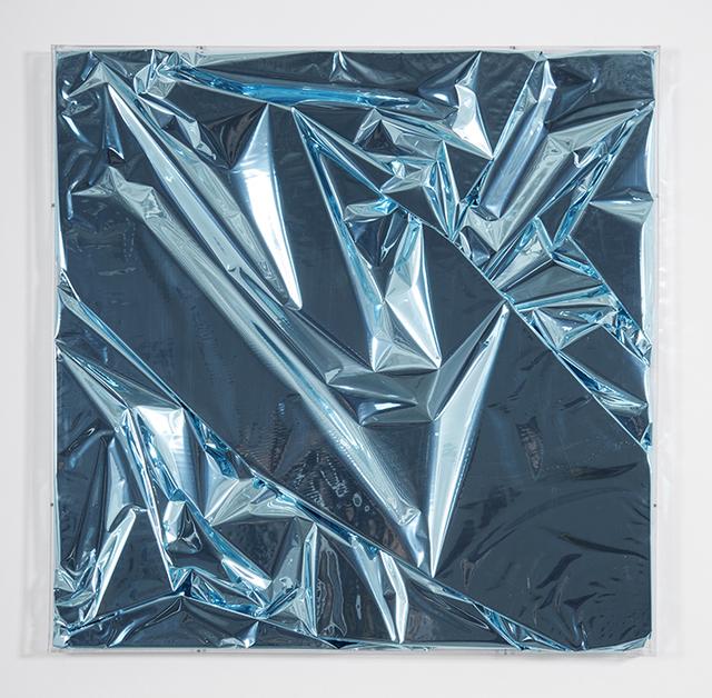 , 'Mylar blue 1,' 2017, Galleria Ca' d'Oro