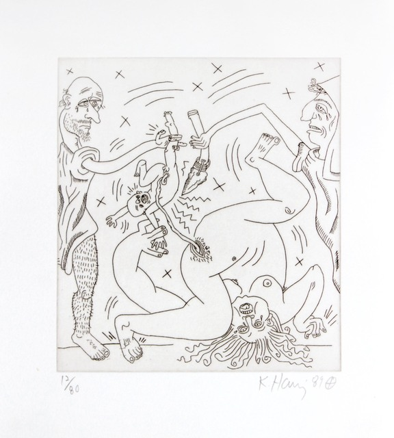 Keith Haring, 'The Valley', 1989, DANE FINE ART