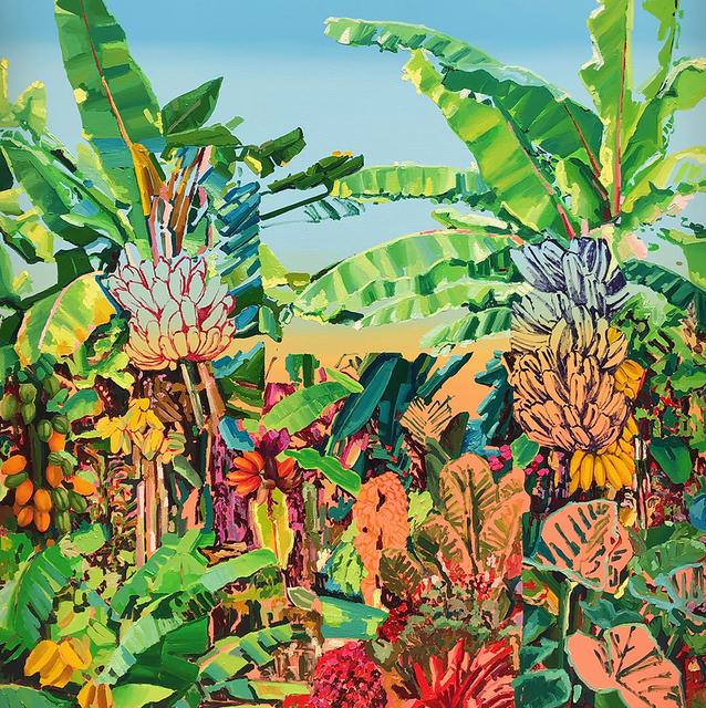 Alejandra Atares, 'Green fluor garden', 2019, Victor Lope Arte Contemporaneo
