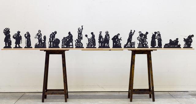 , 'Processione di Riparazioniste,' 2017, Osborne Samuel