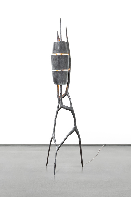 , 'Tripartite Grey,' 2014, Carpenters Workshop Gallery