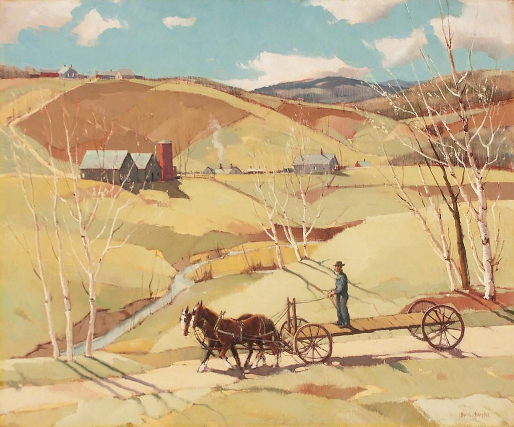 paul sample spring work begins ca 1940 available On paul sample paintings for sale