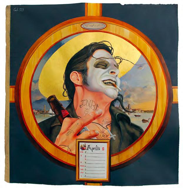 , 'Acedia: Dead Danes (April),' 2014, LMAKgallery