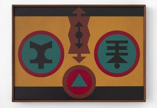 Rubem Valentim, 'Emblema - 1980', 1980, Mendes Wood DM