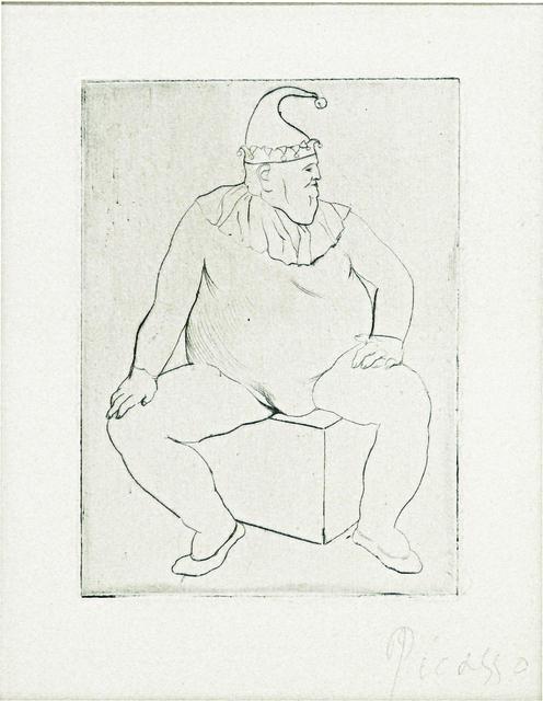 Pablo Picasso, 'Le Saltimbanque au Repos', 1905, John Szoke