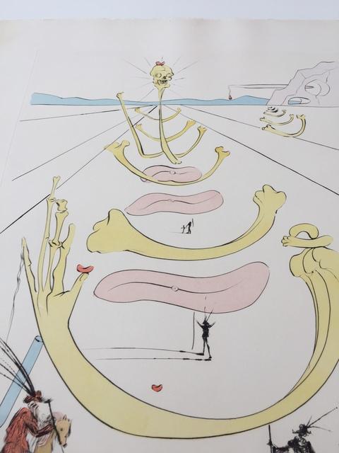 Salvador Dalí, 'Masque De La Mort ', 1975, Print, Etching Aquatint, Gregg Shienbaum Fine Art