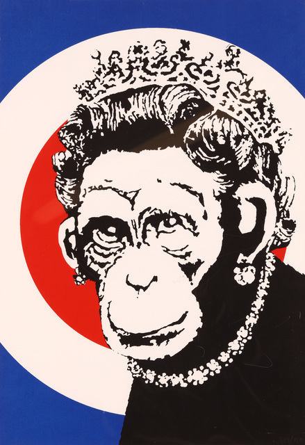 Banksy, 'Monkey Queen', 2003, Chiswick Auctions