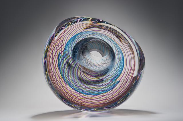 , 'Icosphere,' 2016, London Glassblowing Gallery