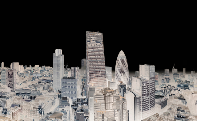 , 'City of London with Fog, 2014 (Within Series),' 2014, Holden Luntz Gallery