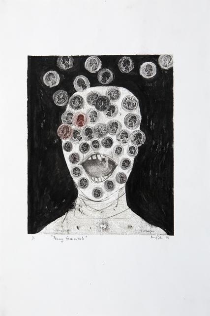, 'Penny face wash,' 2018, Barnard