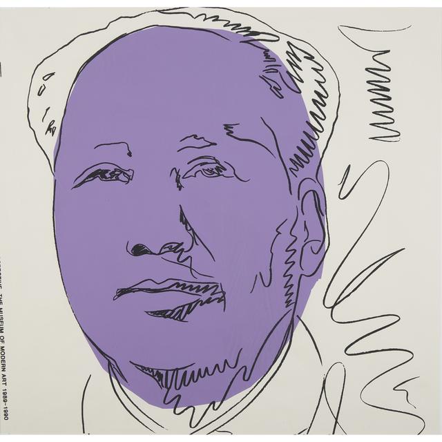 Andy Warhol, 'Mao (Wallpaper) Five Copies', 1974 (printed in 1989), Freeman's