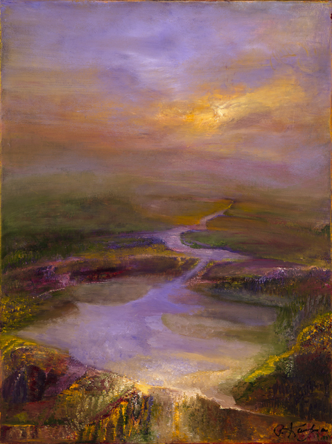 , 'Violet Path ,' 2015, Bowersock Gallery