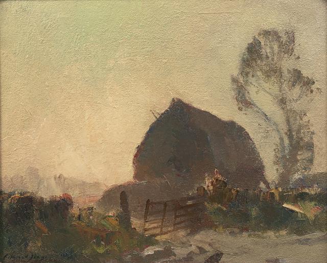 , 'The Haystack,' , Portland Gallery