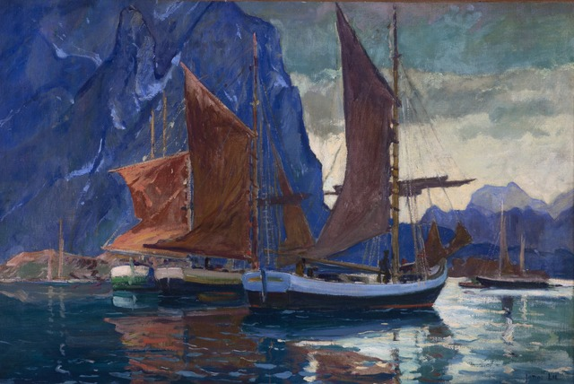 Jonas Lie, 'In Northern Seas', c. 1920, Painting, Oil on canvas, Montclair Art Museum