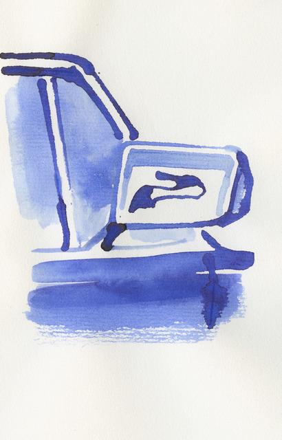 , 'Stiletto in a car mirror,' , Bluerider ART