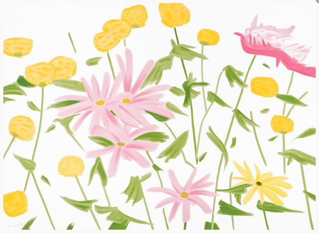 Alex Katz, 'Spring Flowers', 2017, Gregg Shienbaum Fine Art