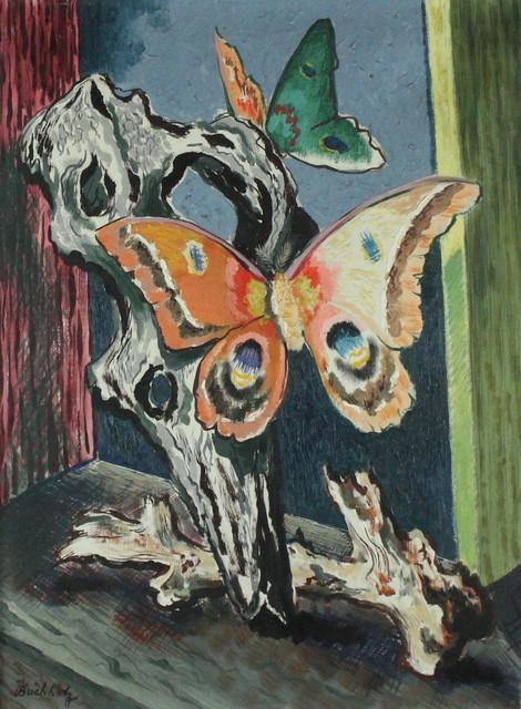 Frederick Buchholz, 'Butterfly & Driftwood', ca. 1965, VHD Gallery