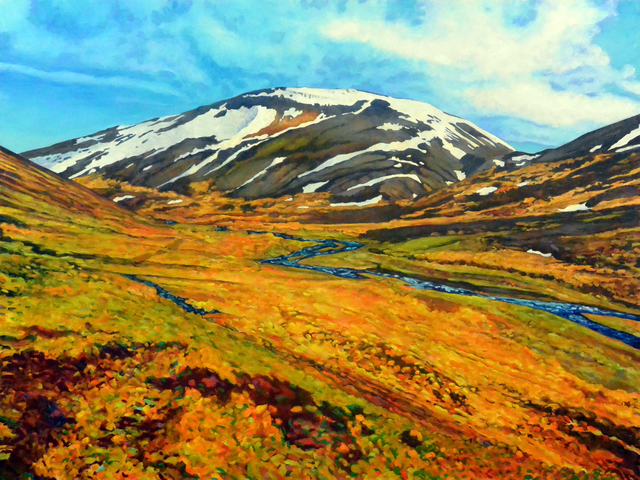 , 'Fjall Dome (Dome Mountain),' 2017, HATHAWAY | Contemporary Gallery