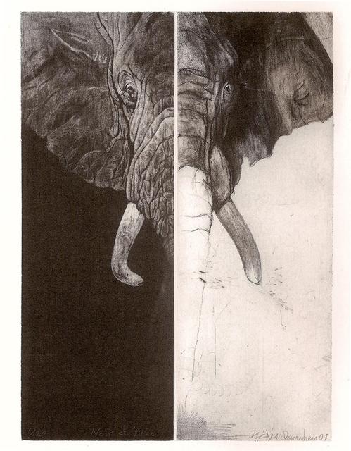 , 'Noir et blanc,' 2007, Atelier-Galerie A.Piroir