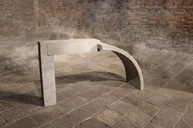 , 'Curva y recta,' 2015, García Galeria