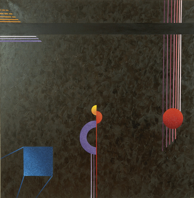 , 'Blue Monolith,' 1990, Paul Fisher Gallery