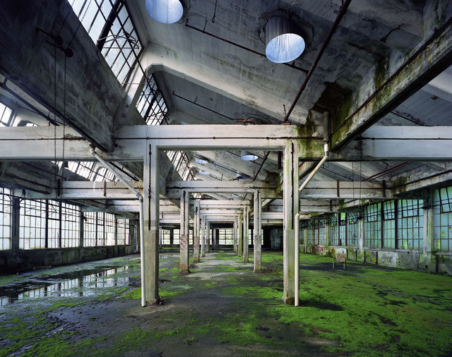 , 'Hall, Peters Cartridge Factory, Kings Mills, USA, 2011,' 2017, Polka Galerie