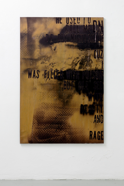 , 'Deadly Night Shade With Bird Shit,' 2014, The Flat - Massimo Carasi