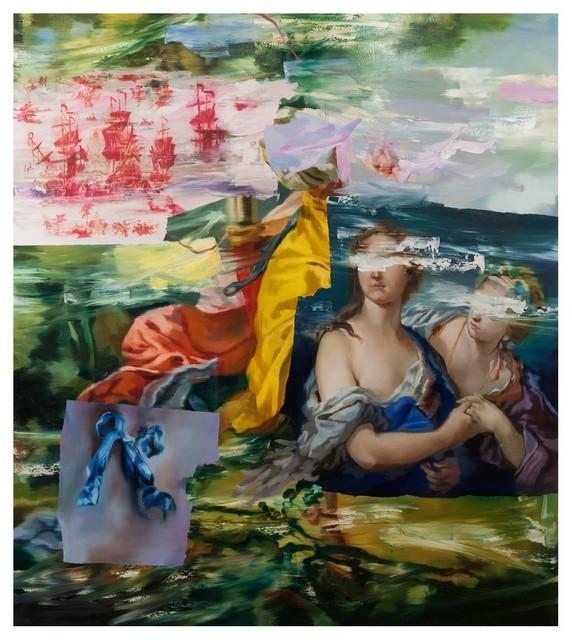 Simon Casson, 'Zart and Vair', 2018, Painting, Huile sur toile / Oil on canvas, Galerie de Bellefeuille
