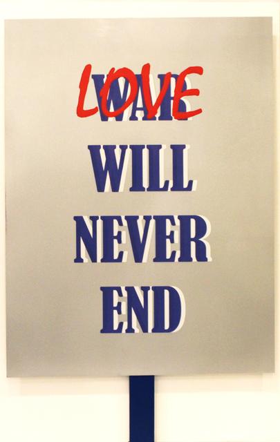 Rubem Robierb, 'Love Will Never End', 2016, Arte Fundamental