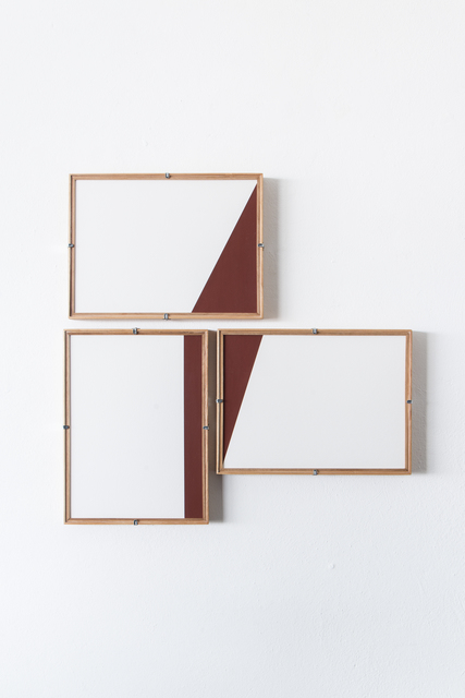 , 'Red Composition No. 15,' 2017, Casa Triângulo