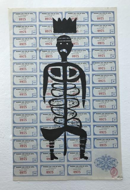 Victoria Behm, 'Blue Skeleton', 2012, 440 Gallery