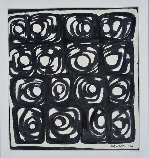 María Freire, 'Capricornio', 1964, Drawing, Collage or other Work on Paper, Ink on paper, Galería de las Misiones