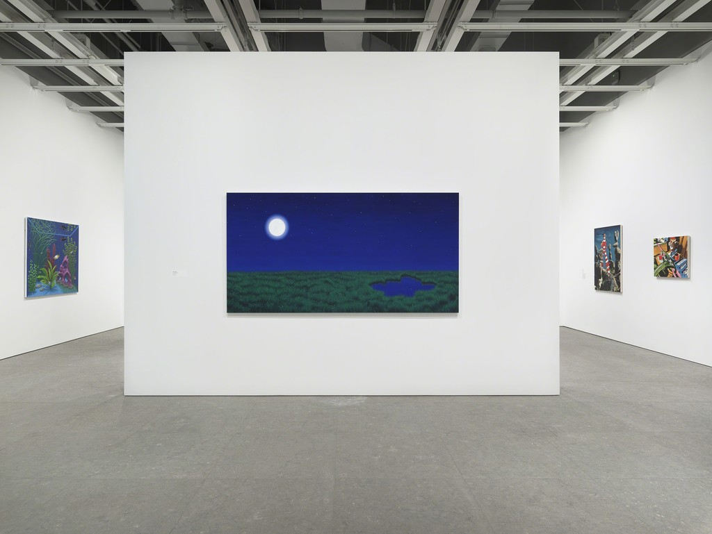 Installation view of Flatlands (Whitney Museum of American Art, NY January 14—April 18, 2016). From